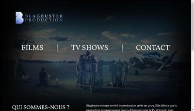 Site internet de Blagbuster