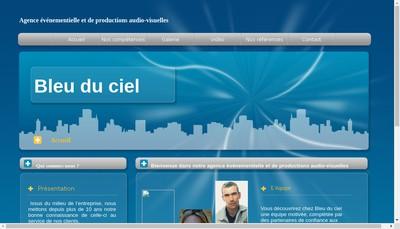 Site internet de Bleu du Ciel
