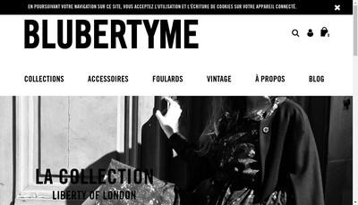 Site internet de Blubertyme