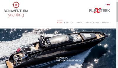 Site internet de Flexiteek Atlantique