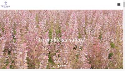 Site internet de Bontoux