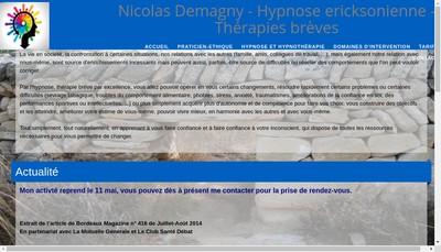Site internet de Nicolas Demagny