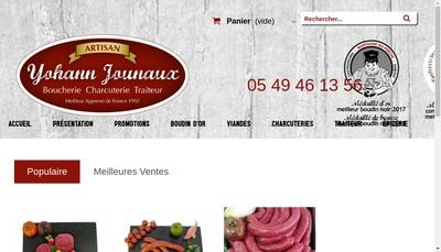 Site internet de Boucherie Jounaux