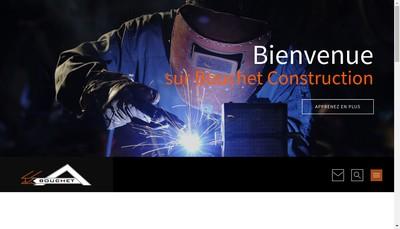 Site internet de Bouchet Construction Metallique