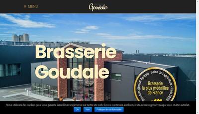 Site internet de Brasserie Goudale