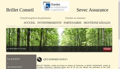 Site internet de Sevec Assurance