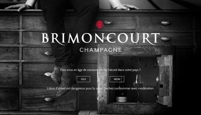 Site internet de Champagne Brimoncourt