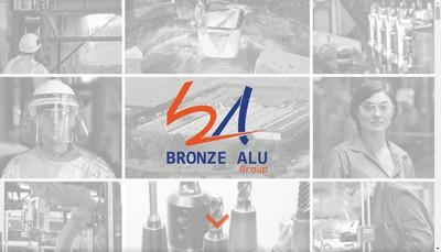 Site internet de Bronze Alu