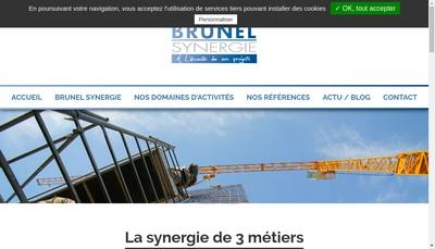 Site internet de Entreprise Brunel