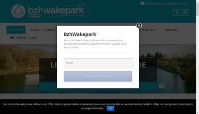 Site internet de Bzh Wake Park