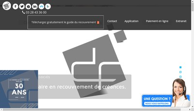 Site internet de Cabinet DF et Associes