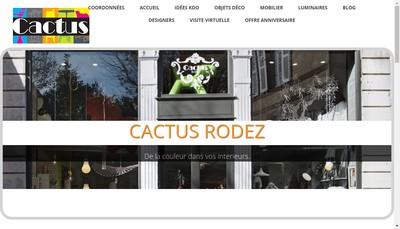 Site internet de Cactus