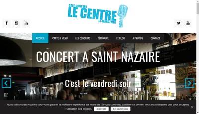 Site internet de Cafe du Centre