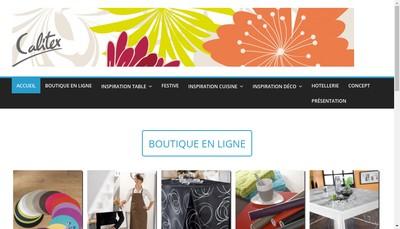 Site internet de SA Calitex