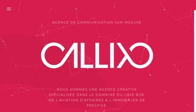 Site internet de Callixo