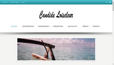 Site internet de Candide Loiseleur