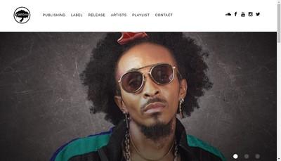 Site internet de Frochot Music Cantos