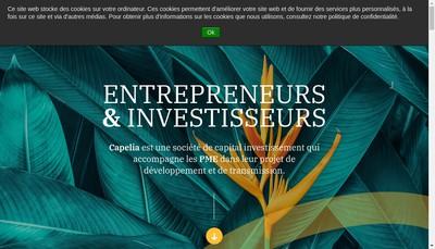 Site internet de Capelia Management