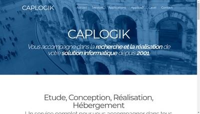 Site internet de Caplogik Services