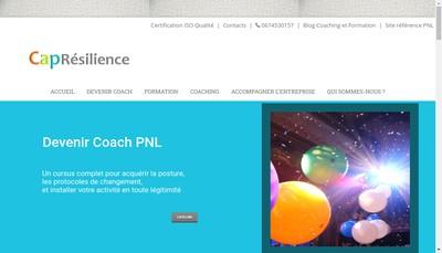 Site internet de Capresilence