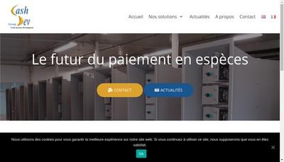 Site internet de Cashdev