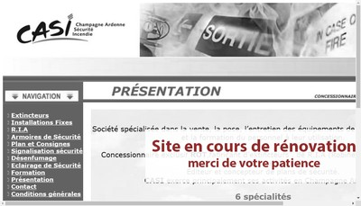 Site internet de Casi