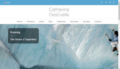 Site internet de Catherine Destivelle