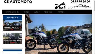 Site internet de Cb Automoto