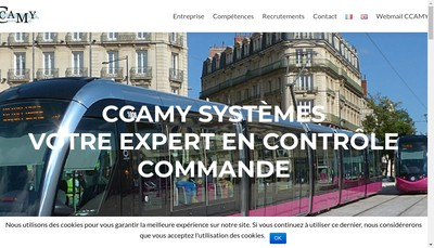 Site internet de Ccamy Systemes