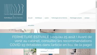 Site internet de Centre de la Femme