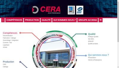 Site internet de Cera