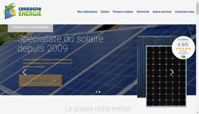 Site internet de Cerdagne Energie
