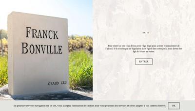 Site internet de Champagne F Bonville