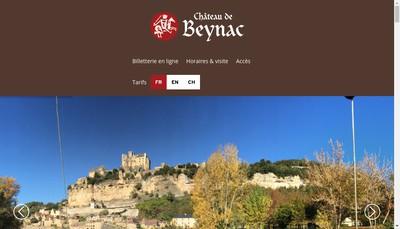 Site internet de Chateau de Beynac