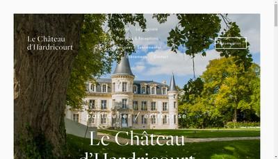 Site internet de Le Chateau d'Hardricourt