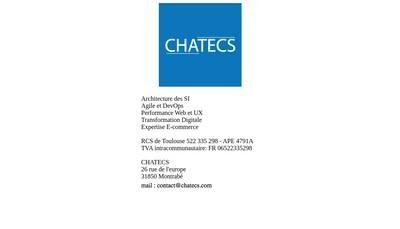 Site internet de Chatecs