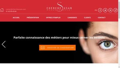 Site internet de Cherche Susan Desesperement