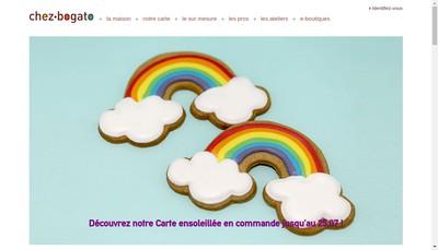 Site internet de Chez Bogato