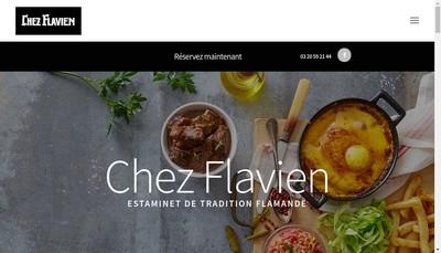 Site internet de Chez Flavien