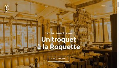 Site internet de Chez Troquette