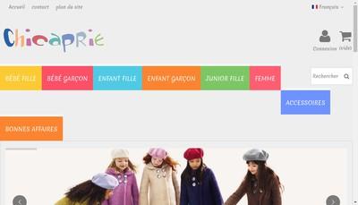 Site internet de Chicaprie