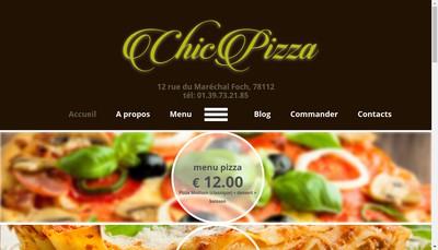 Site internet de Chic Pizza