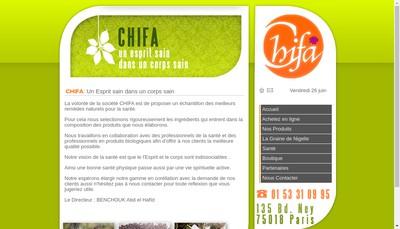 Site internet de Chifa