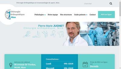Site internet de Dr Pierre Marie Jugnet