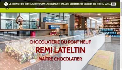 Site internet de Chocolaterie du Pont Neuf