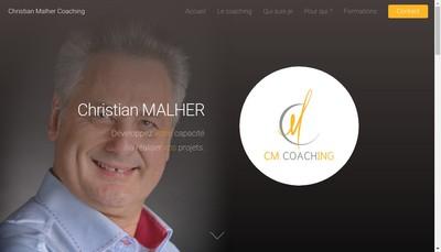 Site internet de Cm Coaching