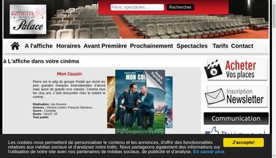 Site internet de Le Grand Palace