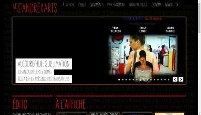 Site internet de Societe Cinema Saint Andre des Arts