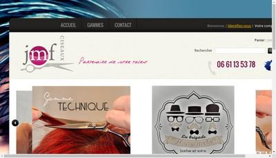 Site internet de Ciseaux Jmf