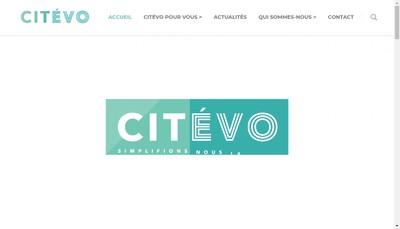 Site internet de Citevo Developpement